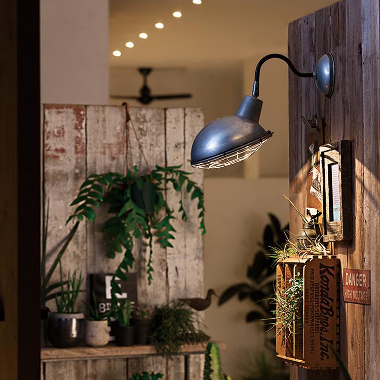 ピクチャーライト インダストリアル アートワークスタジオ 照明 ブラケット コーディネート例